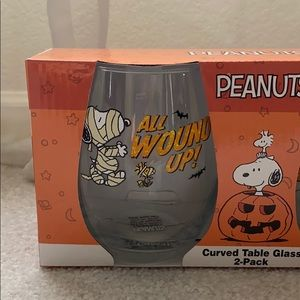 Peanuts Other - Peanuts Snoopy Glass set of 2